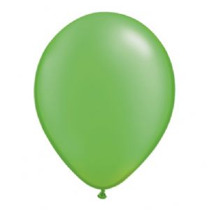 "11"" Pearl Lime Green Balloons - Qualatex Latex Balloons 